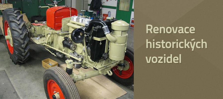 Renovace hitorických vozidel